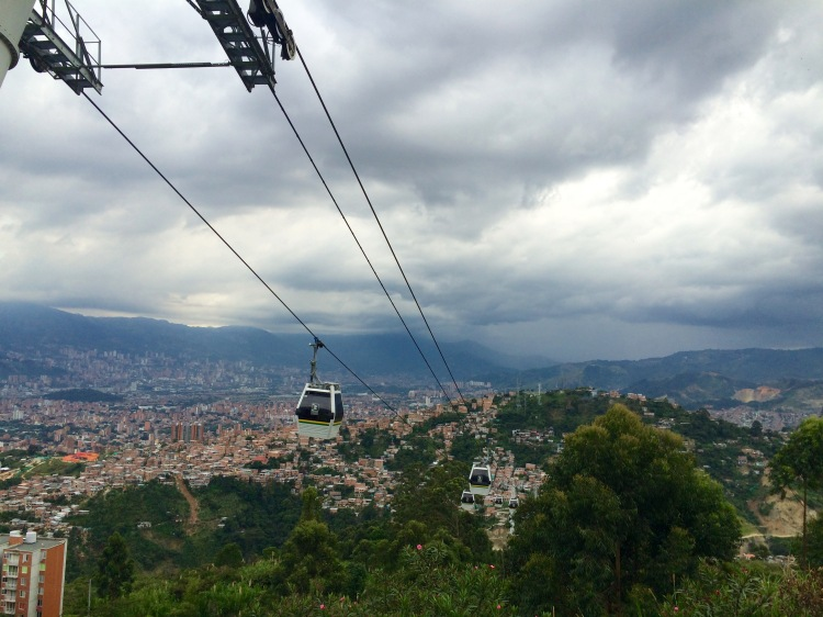 Medellin from Hills